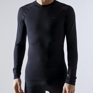 Craft adv warm fuseknit intensity ls m black cod. 1909732