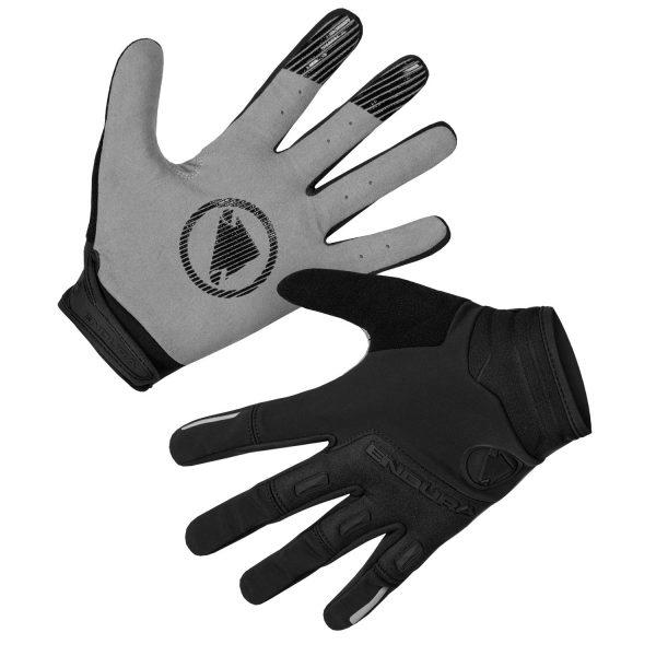 Endura strack windproof glove cod. E1184BK guanti neri
