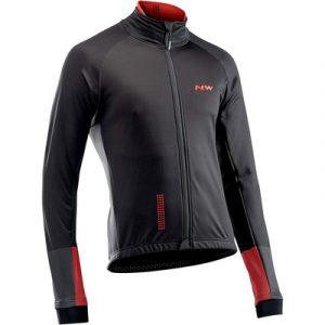 Northwave giacca extreme 3 cod. 89181214 15 jacket ls tp nera e rossa