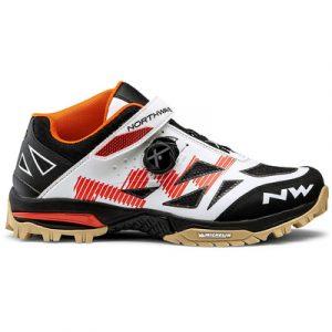 Northwave scarpa enduro mid cod. 80164041 arancione