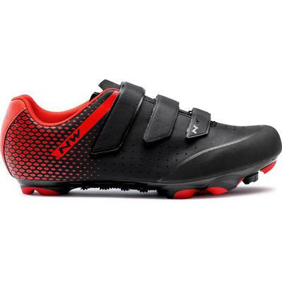 Northwave scarpa origin 2 cod. 80212007 nero e rosso