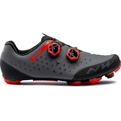 Northwave scarpa rebel 2cod. 80202021 nero e rosso