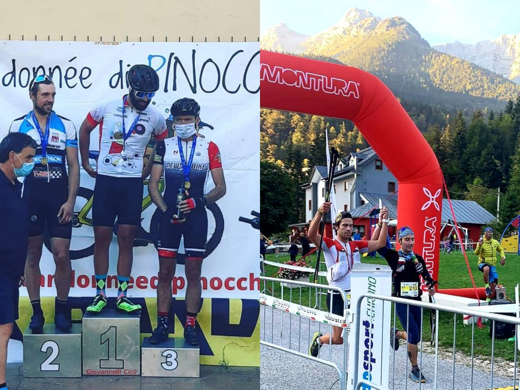 """Team New Bike: Davide Costi sul podio in Toscana nella Ranonèe di Pinocchio e Federico Ganassi Spallanzani all'arrivo della """"Via delle Giulie"""" trail running"""
