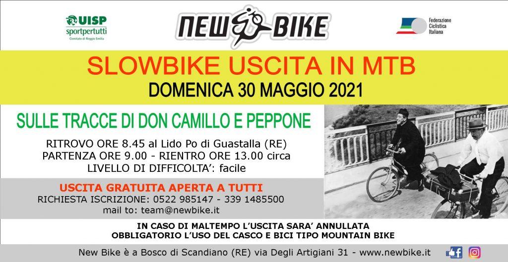 New Bike organizza slowbike uscita in mtb aperta a tutti doomenica 30 maggio 2021