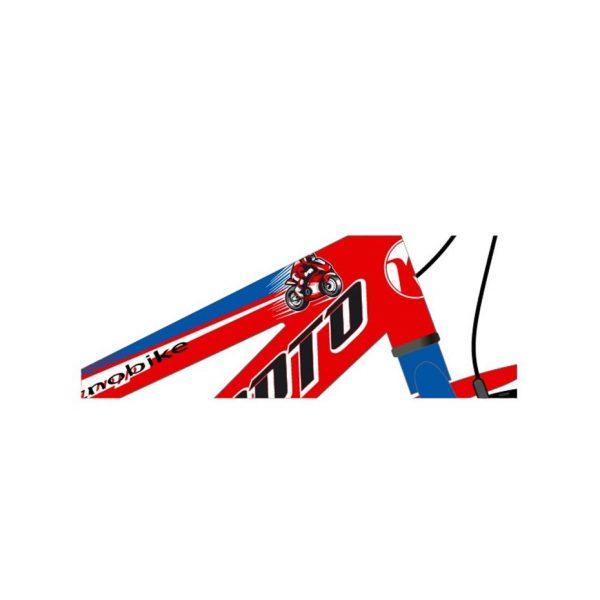 Tecnobike Moto cod. 762 rosso